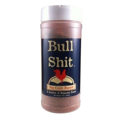 Bull Shit Steak Seasoning, Net Wt 12oz
