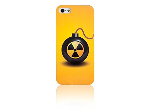 Spada coque iMD 008967 smartphone de protection d'écran pour iPhone 5/5S jaune-bomb
