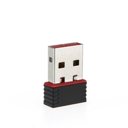 SODIAL CLE USB DONGLE WIFI 802.11N//G WIRELESS MINI ADAPTATEUR R