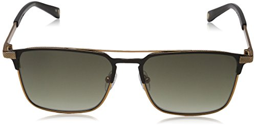 Negro Black 55 para Hombre Sol de Baker Sunglasses Ted Gafas Nash wz8SqP