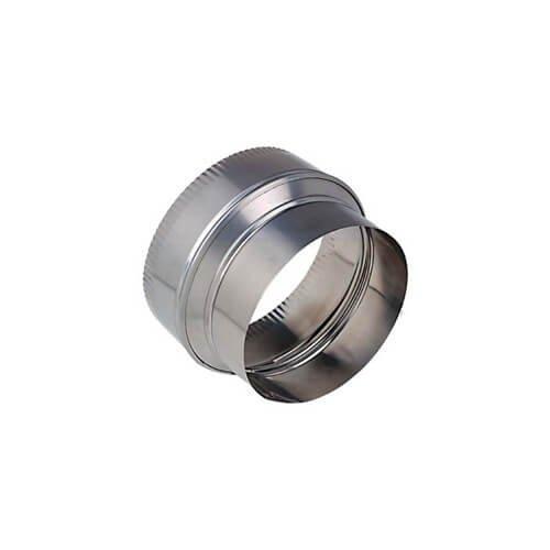 6'' (Crimped) to 5-1/2'' Aluminum Reducer