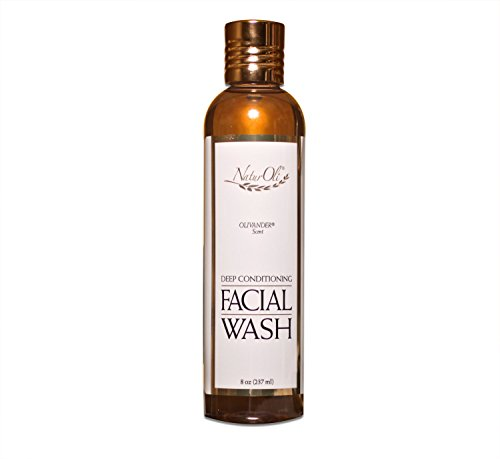 NaturOli Deep Conditioning Facial Wash - 8 oz. Cleanse and condition in one step. Leaves face wonderfully soft and silky smooth! - Sulfate free! Gluten free! - Made in USA!