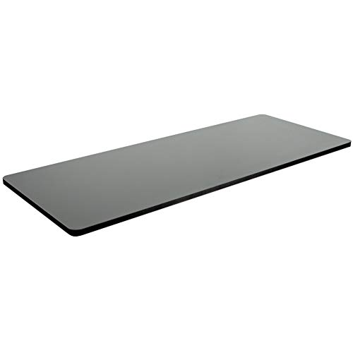 VIVO Black 60 x 24 inch Universal Table Top for Standard and Sit to Stand Height Adjustable Home and Office Desk Frames (DESK-TOP60B)