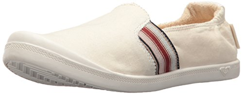 Roxy Women's Palisades Slip On Shoe Sneaker, Natural