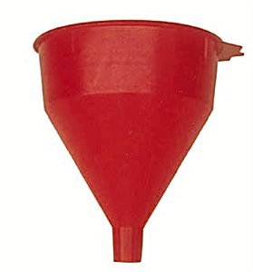 WirthCo 32002 Funnel King Red Safety Funnel with Screen - 2 Quart Capacity (6) by WirthCo (Image #1)