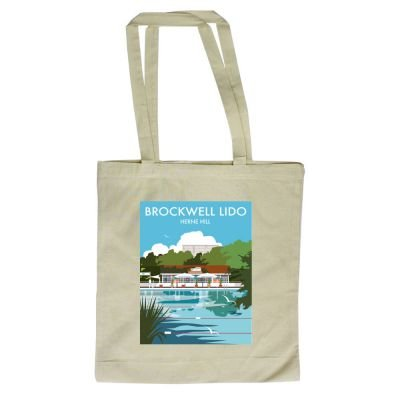 Art247 420mm Hill Illustrator Lido 380mm London By Herne Shopper Brockwell Dave Tote design of x Bag with Thompson rqnTx0Ar7z