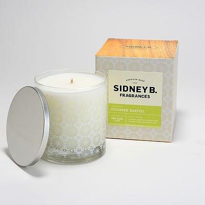 Sidney B. Fragrances Scented Candle 8oz- Cucumber Martini