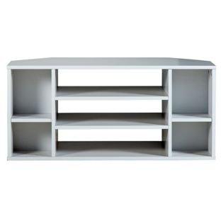 Suki ad angolo per TV, colore bianco.: Amazon.it: Elettronica