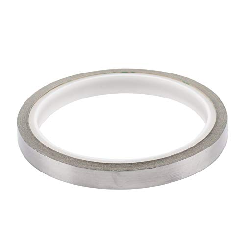 SummerHouse 3/8'' x 197'' Tennis Racquet Lead Tape Weight Silver Self-Adhesion Swing Weights 0.35g Per Inch