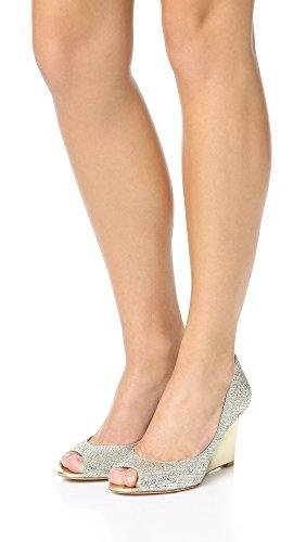Badgley Platino Women's Mischka Wedge Sandal Awake 7q7SwXrn