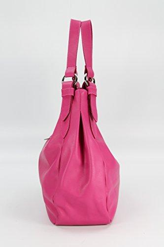 Alta Calidad Comprar Salida De Fábrica Barata Belli in pelle nappa Italiana Borsa a mano shopper–libero colore a scelta–36x 30x 14cm (B x H x T) Pink zi6ZKikl