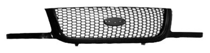 OE Replacement Ford Ranger Grille Assembly (Partslink Number FO1200395) (2003 Ranger Ford Grille)