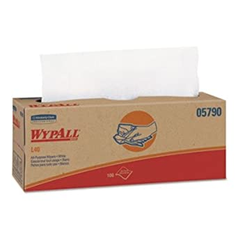 Amazon.com: Kimberly-clark Professional WYPALL L40 Wipers ...