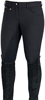 Horze–Ladies Frost Rider Equitazione per Donna, Nero Horze Equestrian