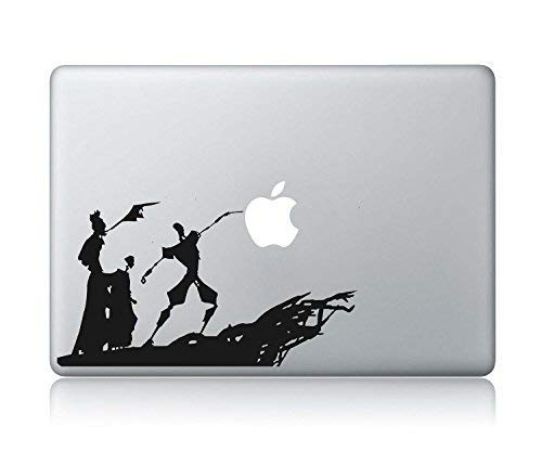The Tale Of The Three Brothers- The Tales Of Beedle The Bard-Harry Potter And The Deathly Hallows Apple Macbook Vinyl Sticker Decal (Harry Potter Macbook Vinyl)