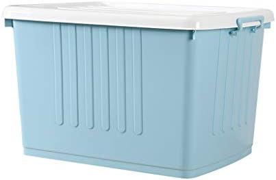 GAOLE 80L 80 litros Extra Grande Grande plástico Caja de ...