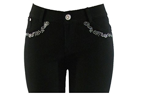 Noir Fashion Jeans Femme Skinny Noir Barfly Hq8w7XwU