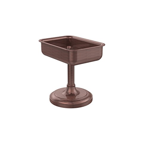 Allied Brass S-56-CA Solid Brass Decorative Soap Dish, Antique Copper (Copper Soap Dish Decorative)
