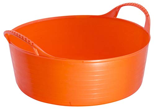 - TubTrug SP15O Shallow Orange Flex Tub, 15 Liter