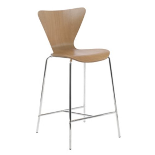 Eurø Style Tendy Wood Counter Height Side Dining - Euro Ii Chair