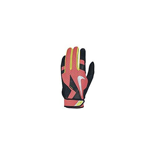 NIKE Vapor Elite Pro Batting Gloves - Atomic Red/Black - XX-Large GB0372-607-XXL (Nike Vapor Elite Batting Gloves)