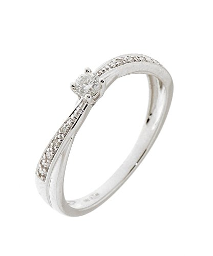 Bague Or 750 Diamant ref 35948