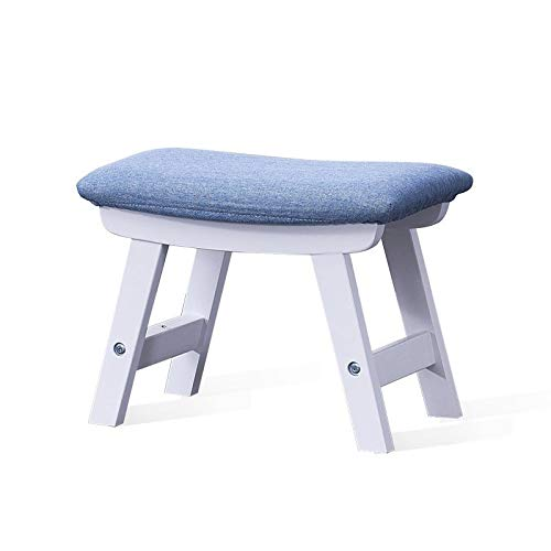 Amazon.com: FSSFD FS Footstool, Home Shoe Bench, Solid Wood ...