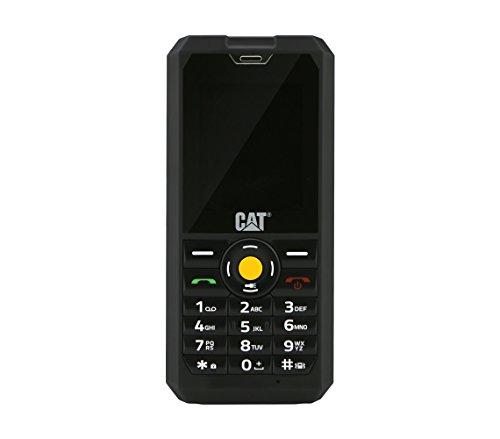 CAT B30 cellulare all''aperto (5,1 cm Display TFT QVGA, 2 fotocamera Megapixel) molto robusta, Nero