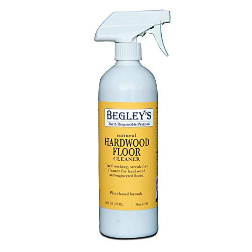Begley's Best Earth Responsible Natural Plant-Based Hardwood Floor Cleaner, Fresh Citrus Scent, 24 oz ()