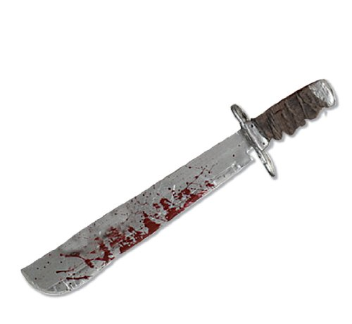 [Friday The 13th Jason Voorhees Deluxe Machete] (Family Themed Fancy Dress Costumes)