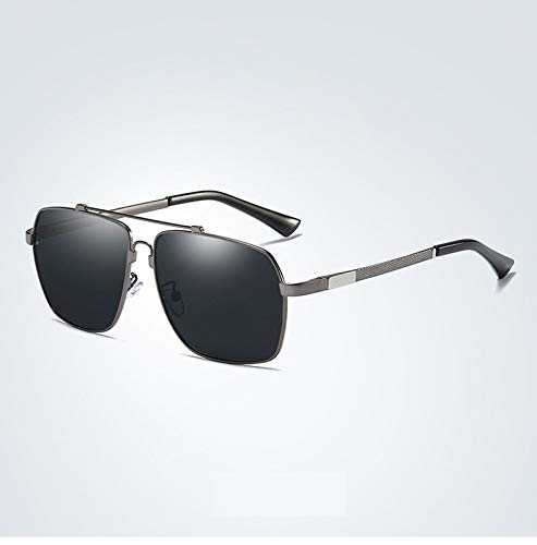 Color para Driving Rack Memory UV400 People Round Face Glasses Ruanyi Retro Hombres Mirror 4 Tide de 2 Gafas Sol Protección Polarized wgUqna