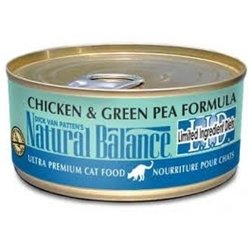 Natural Balance Limited Ingredient Diets Chicken & Green Pea Formula - 24x5.5oz