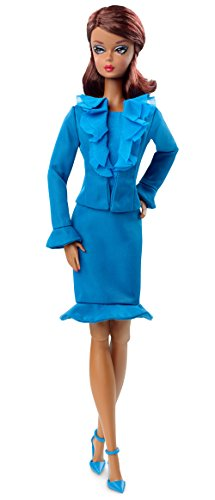 (Barbie Fashion Model Collection Suit Doll Blue)