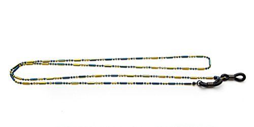 Readers.com   Orleans Reading Glasses Chain Blue/Yellow Stylish Women's ()