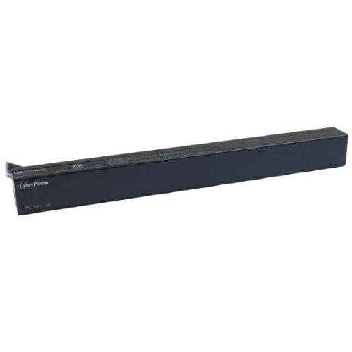 UPC 649532901418, CyberPower PDU20BHVT12R 12-Outlets Rack Mount 1U L6-20P 200/230 20A Basic Power Distribution Unit