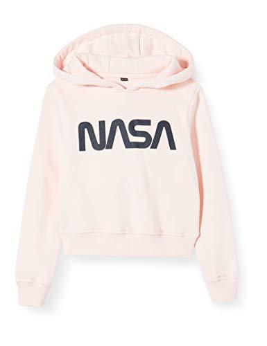 Mister Tee Kids NASA Cropped Hoody meisjes Sweatshirt met capuchon