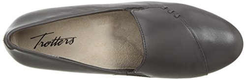 Trotters Women's Moment Flat Dark Grey new for sale clearance Inexpensive buy cheap genuine cheap sale find great pre order GAtWO38w