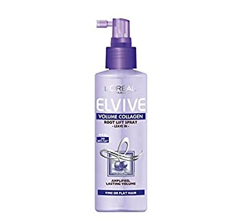 34189592d52 LOREAL ELVIVE VOLUME COLLAGEN ROOT LIFT SPRAY FOR FINE OR FLAT HAIR 200ML:  Amazon.co.uk: Beauty