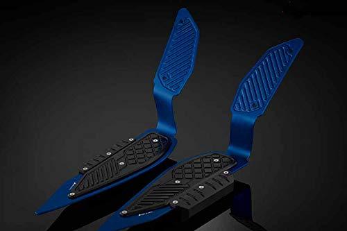 BIKERS(バイカーズ) フットレストプレート ブルー 左右セット XMAX(18-19) BK-Y0316-BLU   B07S93X4TS