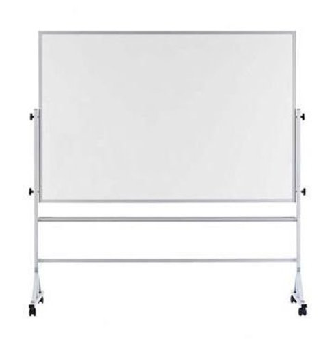 Marsh Industries RA-46C-K2K2 48 in. x 72 White Porcelain Markerboard Both Sides Reversible by Marsh