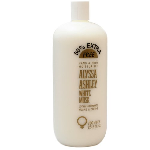 Alyssa Ashley White Musk by Alyssa Ashley for Women Hand and Body Lotion, 25.5 Ounce ()