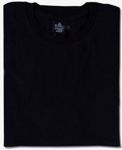 Ahorn Basic T-Shirt schwarz 4XL-64/66