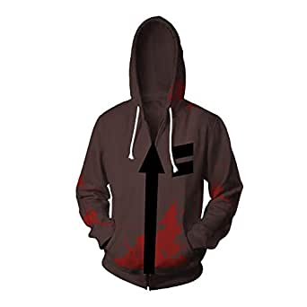 Amazon Com Voste Zack Jacket Halloween Hot Game Isaac Foster Cosplay Costume Clothing