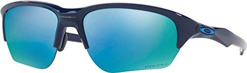 Oakley Men's Flak Beta Polarized Iridium Rectangular Sunglasses, Navy, 64 - Flak Oakley Beta