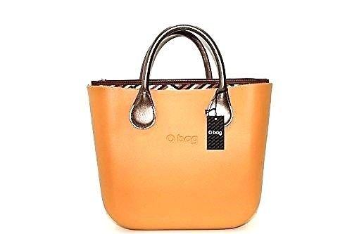 O BAG - Bolso al hombro de goma para mujer BIZCOCHO: Amazon.es: Zapatos y complementos