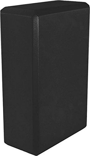 Yoga 3'' Foam Block (40-Pack), 3'' x 6'' x 9'', Black by MatsMatsMats.com