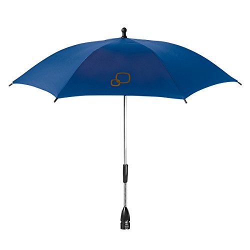 Quinny - Parasol para carritos de bebe Buzz, Buzz Xtra, Moodd, Speedi, Senzz, Zapp, Zapp Xtra y Zapp Xtra 2, con proteccion contra rallos ultravioleta azul (blue base)