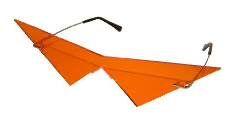 Pointy Nose Costume (Mini orange pointy v costume cosplay glasses)