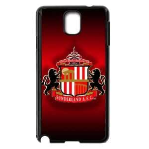 Dream Style Football Club Pattern With Dark And Red Back Sunderland AFC Logo Print Design For Guys,TPU Phone case for SamSung Galaxy Note3,black,16001E52XO