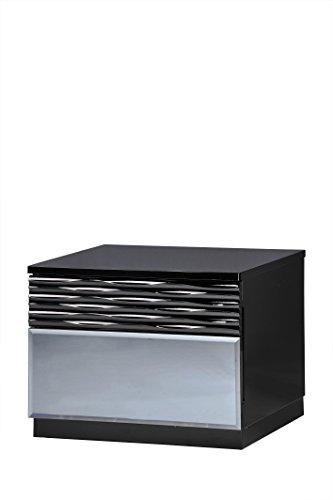 Usa Furniture Bedroom - Global Furniture Nightstand, Black